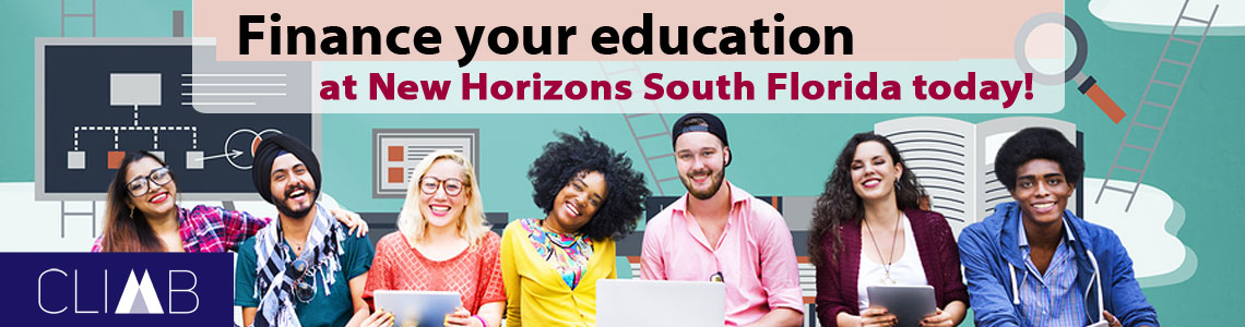 Finance your education at New Horizons South Florida today!
