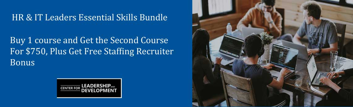 HR and IT Leaders Essential Skills bundle