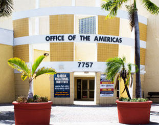 Miami Office of the Americas Room Rentals