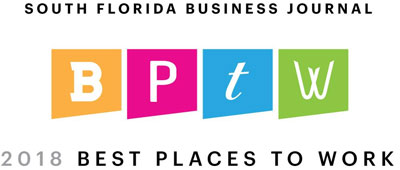 South Florida Business Journal 2018 Best Places to Work