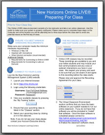 Click to download Class Preparation Guide PDF